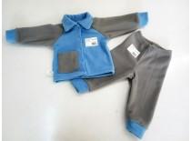 Комплект флис, кофта + штаны