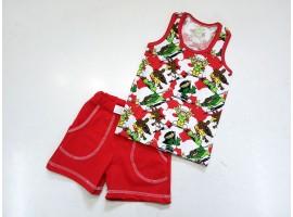 Комплект летний: майка + шорты