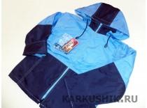 Куртка-ветровка на флисе, плащевка