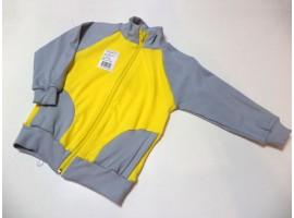 Курточка на молнии с начесом