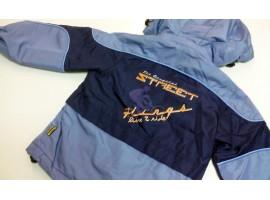 Куртка-ветровка, на флисе