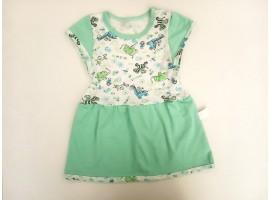 Платье трикотажное, летнее