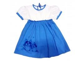 Платье с вышивкой, р. 122