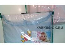 Ограждение в детскую кровать + постельное